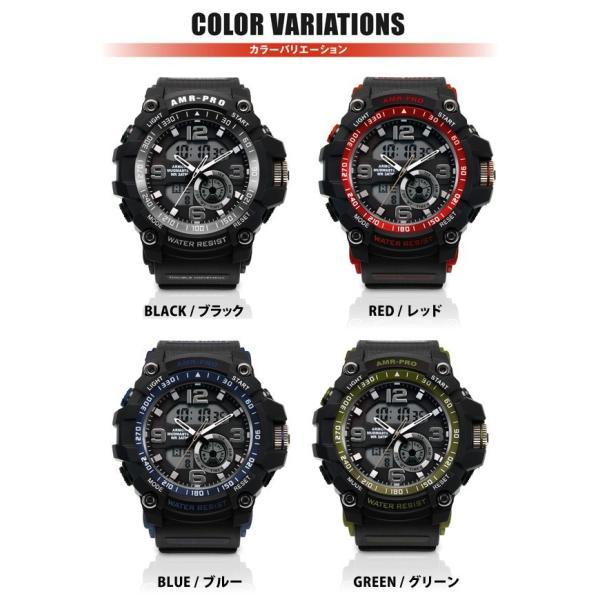 腕時計 メンズ ブランド FrancTemps フランテンプス AMR-PRO アーマープロ  アウトドア 腕時計 ウォッチ メンズ|sincere-inc|02