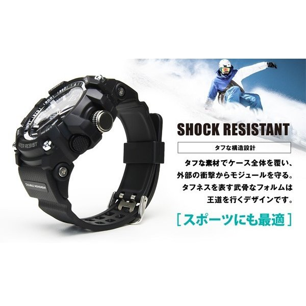 腕時計 メンズ ブランド FrancTemps フランテンプス AMR-PRO アーマープロ  アウトドア 腕時計 ウォッチ メンズ|sincere-inc|04