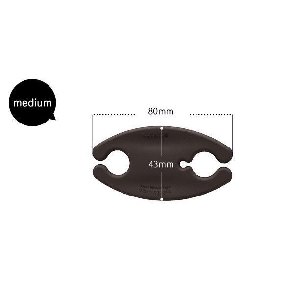 bobino Cord Wrap コードホルダー M ミディアム MEDIUM 3個セット ケーブル収納 ケーブルホルダー メール便OK|sincere-inc|04