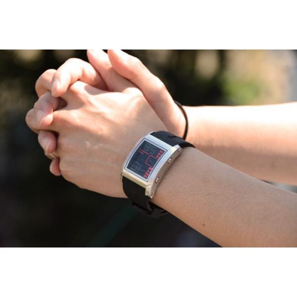 フランテンプス メンズ 腕時計  腕時計 ユイット シルバー×ブラック限定|sincere-inc|02