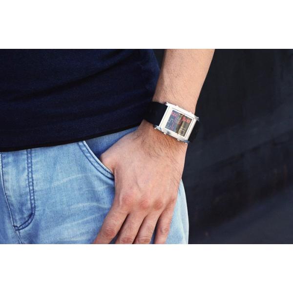 フランテンプス メンズ 腕時計  腕時計 ユイット シルバー×ブラック限定|sincere-inc|03