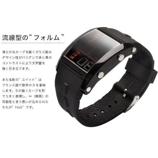 フランテンプス メンズ 腕時計  腕時計 ユイット シルバー×ブラック限定|sincere-inc|05