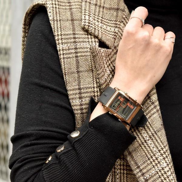 腕時計 メンズ ブランド スポーツ フランテンプス ユイット カジュアル デジタル アウトドア HUIT  FrancTemps|sincere-inc|14