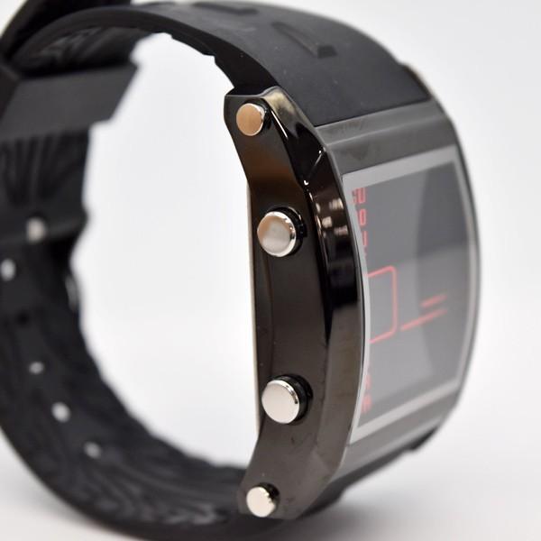 腕時計 メンズ ブランド スポーツ フランテンプス ユイット カジュアル デジタル アウトドア HUIT  FrancTemps|sincere-inc|07
