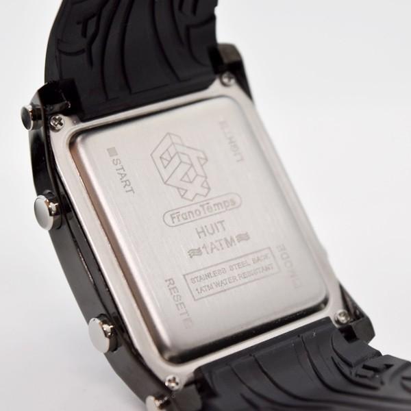 腕時計 メンズ ブランド スポーツ フランテンプス ユイット カジュアル デジタル アウトドア HUIT  FrancTemps|sincere-inc|08
