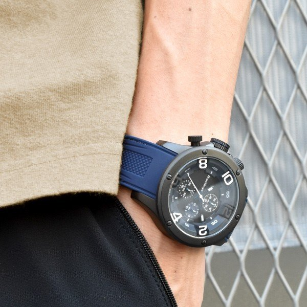 腕時計 メンズ腕時計 ブランド FrancTemps GAVARNIE フランテンプス ガヴァルニ クロノグラフ ビッグフェイス ラバーベルト NATOベルト おしゃれ|sincere-inc|10