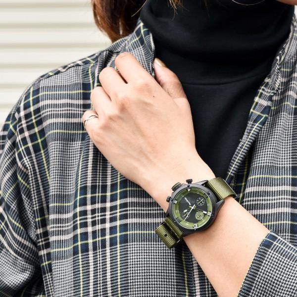 腕時計 メンズ腕時計 ブランド FrancTemps GAVARNIE フランテンプス ガヴァルニ クロノグラフ ビッグフェイス ラバーベルト NATOベルト おしゃれ|sincere-inc|11
