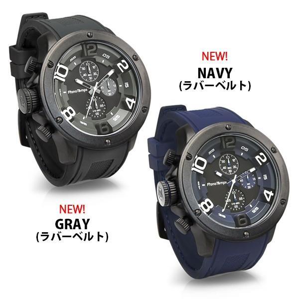 腕時計 メンズ腕時計 ブランド FrancTemps GAVARNIE フランテンプス ガヴァルニ クロノグラフ ビッグフェイス ラバーベルト NATOベルト おしゃれ|sincere-inc|15