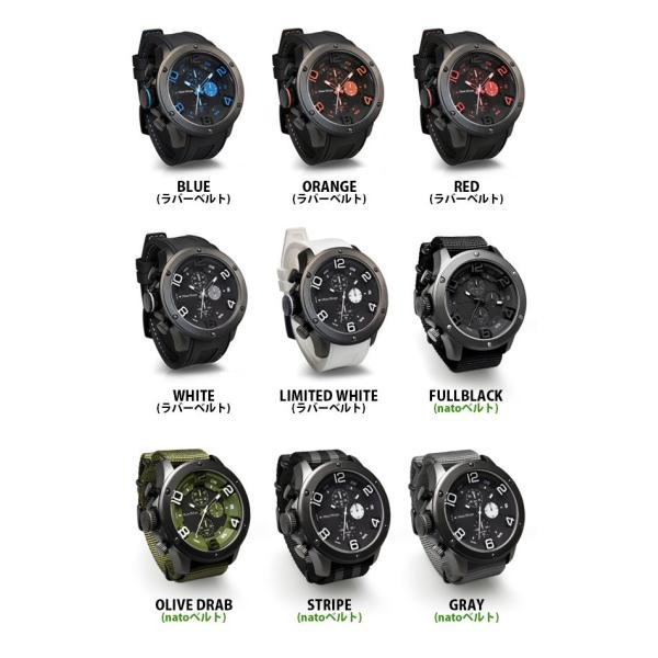 腕時計 メンズ腕時計 ブランド FrancTemps GAVARNIE フランテンプス ガヴァルニ クロノグラフ ビッグフェイス ラバーベルト NATOベルト おしゃれ|sincere-inc|16