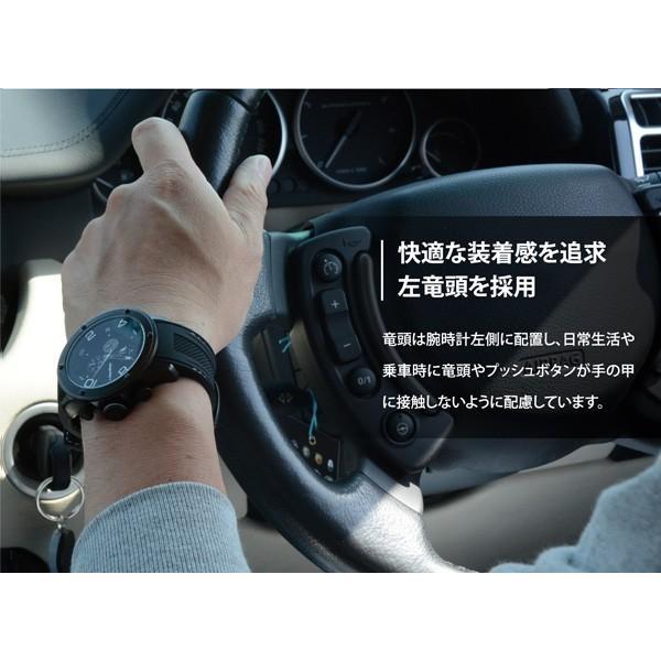 腕時計 メンズ クロノグラフ ブランド 時計 フランテンプス FRANCTEMPS ガヴァルニ アウトドア アナログ|sincere-inc|05
