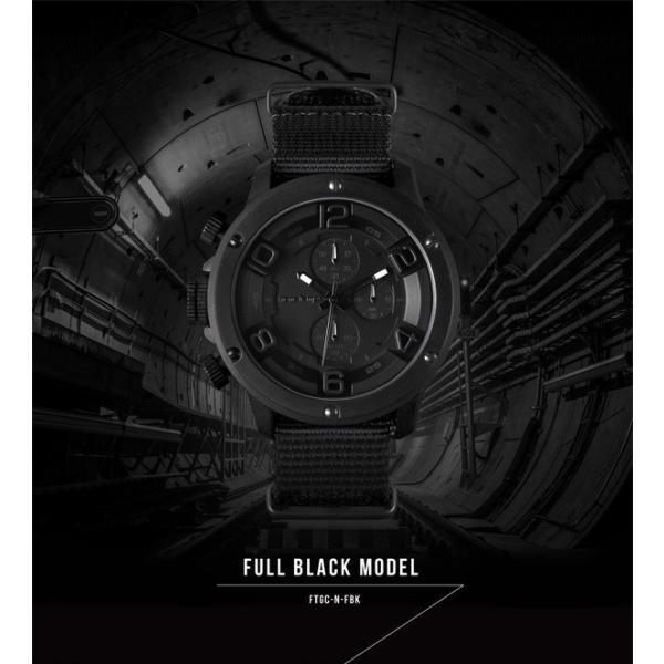 腕時計 メンズ腕時計 ブランド FrancTemps GAVARNIE フランテンプス ガヴァルニ クロノグラフ ビッグフェイス ラバーベルト NATOベルト おしゃれ|sincere-inc|06