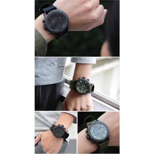 腕時計 メンズ腕時計 ブランド FrancTemps GAVARNIE フランテンプス ガヴァルニ クロノグラフ ビッグフェイス ラバーベルト NATOベルト おしゃれ|sincere-inc|09