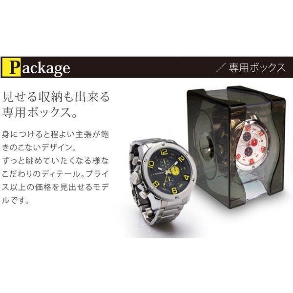腕時計 メンズ クロノグラフ  フランテンプス ガヴァルニ ステンレス|sincere-inc|04