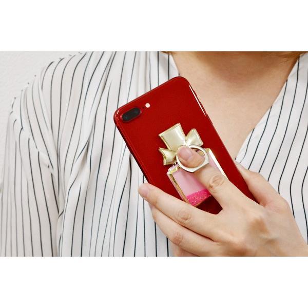 スマートフォンリング Glitter iPhone Android アンドロイド スマホ スタンド 落下防止 可愛い おしゃれ メール便OK|sincere-inc|06