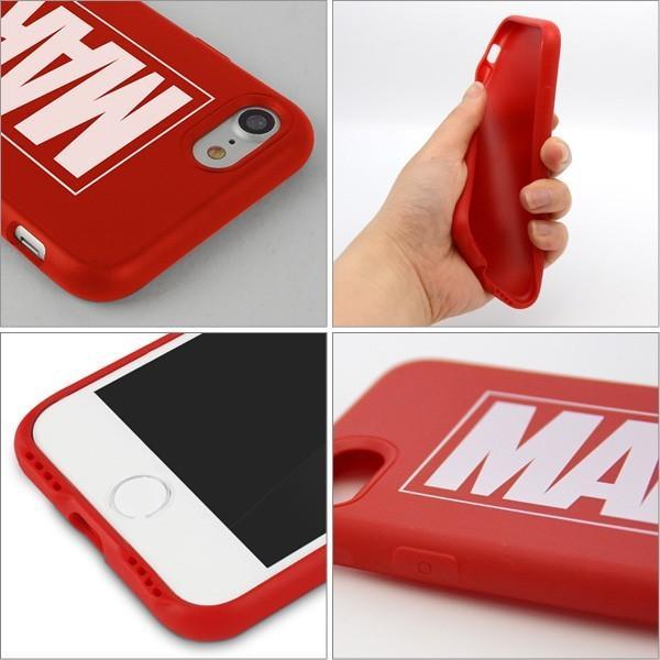 MARVEL Slim Protecter マーベルプロテクター iPhone7 iPhone8 ケース iphoneケース スマホケース カバー アメコミ マーヴェル ロゴ TPU 映画 メール便OK|sincere-inc|03