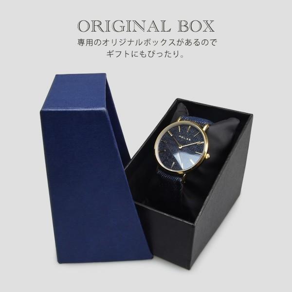 ペアウォッチ レディース メンズ  腕時計 メンズ腕時計 レディース腕時計 デニム RELAX リラックス NIMES ニーム 1本販売 カップル|sincere-inc|05