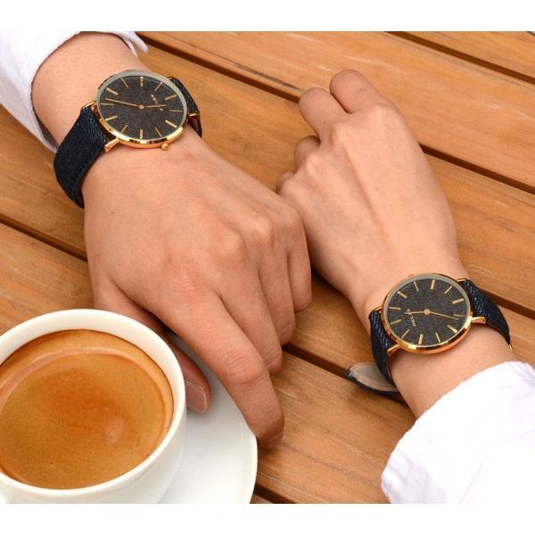 ペアウォッチ レディース メンズ  腕時計 メンズ腕時計 レディース腕時計 デニム RELAX リラックス NIMES ニーム 1本販売 カップル|sincere-inc|06