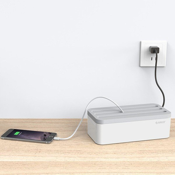 オリコ ストレージボックス orico strage box  充電コード スタンド タブレット iPhone android スマホ コンセント|sincere-inc|09