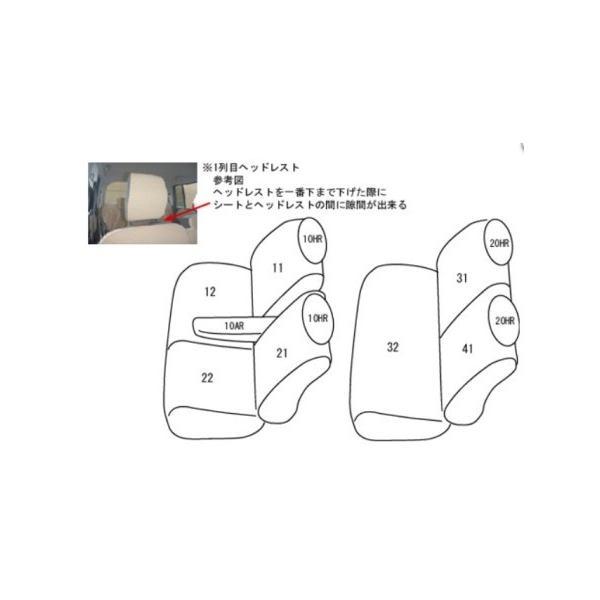 ラパン アルトラパン シートカバー HE22S 一台分 クラッツィオ ES-0626 キルティング タイプ 内装|sincere-y|02