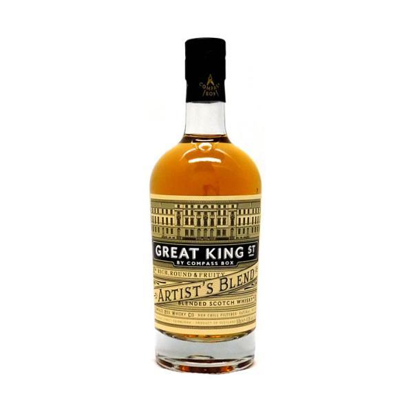 [お酒 ウイスキー スコッチ シングルモルト ヴァテッド・モルト]コンパスボックス グレートキング ストリート アーティスツブレンド 500ml