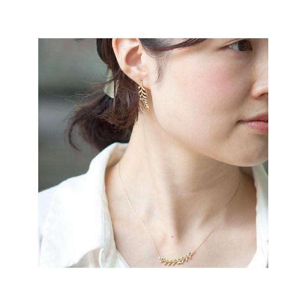 ピアス K10 10金 K18 18金 ゴールド フックピアス Seedaシーダ ダイヤモンド 0.04ct ダイアモンド