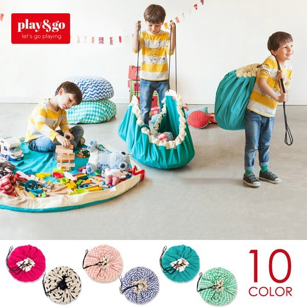 play&go (プレイ アンド ゴー)/2in1 STORAGE BAG & PLAYMAT|sixem-shop
