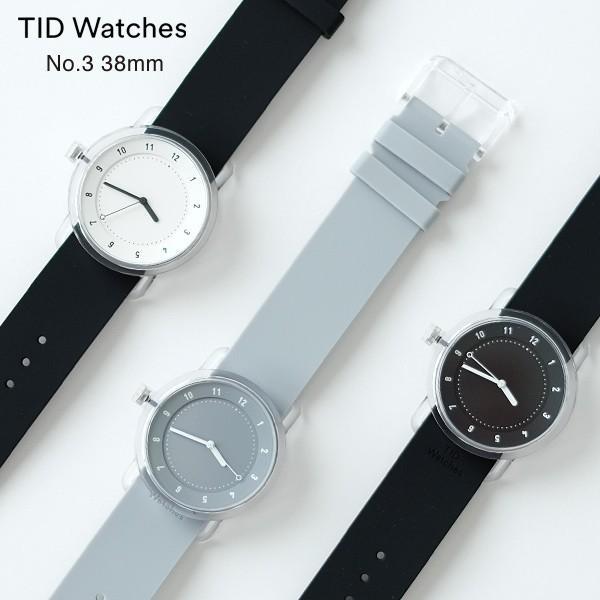 TIDWatches(ティッドウォッチ)No.3腕時計38mm(北欧デザインスウェーデンミニマルシンプル)