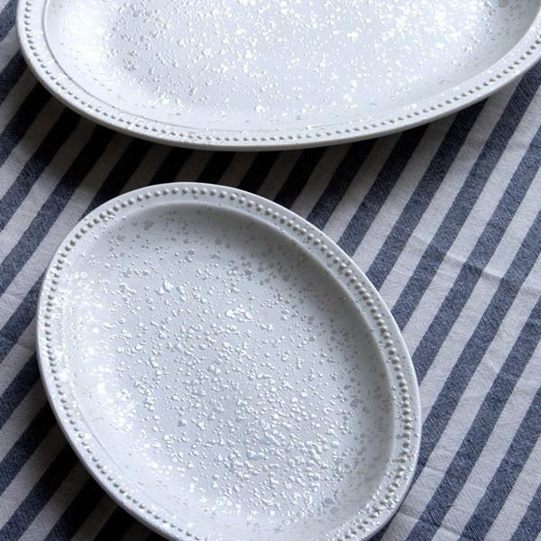 COOKOO Sparkle Rim Dots Luster Oval Plate S クークー スパークルリムドットラスター オーバルプレートS 20.5cm|sixem-shop|07