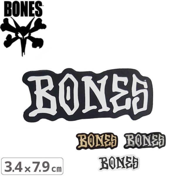 スケボー BONES ステッカーボーンズ ステッカー BONES WHEELS STICKER 3.4cm x 7.9cm NO53 sk8-sunabe