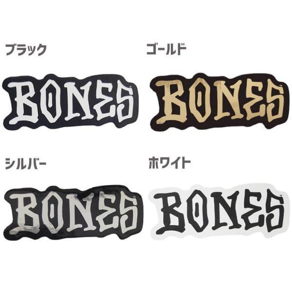 スケボー BONES ステッカーボーンズ ステッカー BONES WHEELS STICKER 3.4cm x 7.9cm NO53 sk8-sunabe 02