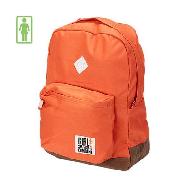 スケボー リュック ガール GIRL SKATEBOARDS Simple Backpack オレンジ NO6