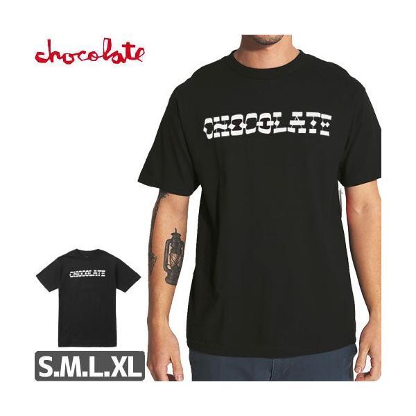 スケボー チョコレート Tシャツ 半袖 CHOCOLATE Tシャツ  HAND LETTERED TEE NO157