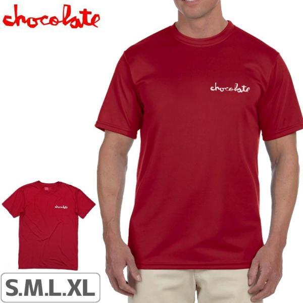 チョコレート CHOCOLATE スケボー Tシャツ PERFORMANCE CHUNK TEE NO173