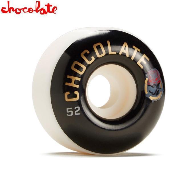 チョコレート CHOCOLATE スケートボード ウィール LUCHADOR STAPLE WHEEL 99A 52mm NO46