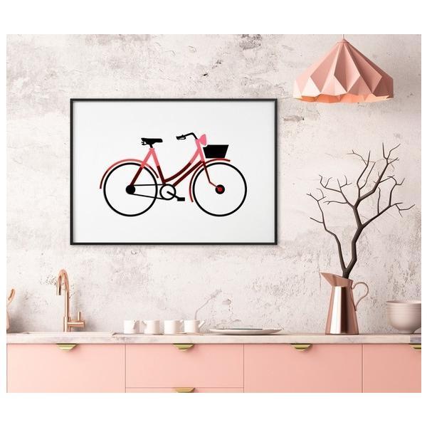 3D アートフレーム ‐自転車(BICYCLE) (サイズ:A2)ハンドメイド プレゼント 贈り物 額縁 フレーム 新築 お祝い ギフト おしゃれ ハンドメイド 手作|skipskip