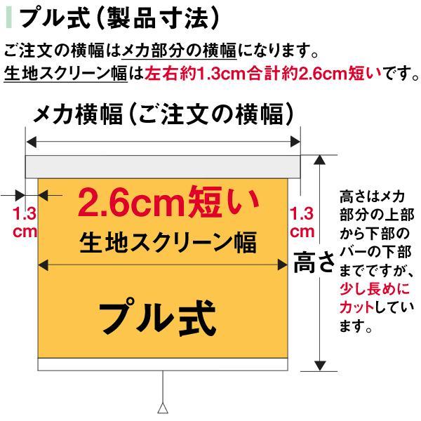 ロールスクリーン TASTE シースルー(レースカーテンのような透け感) 横幅41〜60cm × 高さ181〜200cm  オーダー メイド 立川機工製|skipskip|09