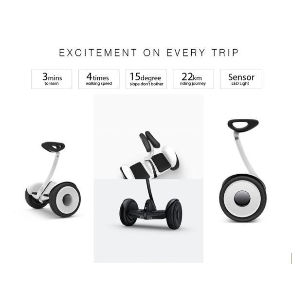 niinebot/ナインボット mini 240wh 電動二輪車 電気二輪車 自動二輪車 正規品 Ninebot Mini ナインボット ミニ セグウェイ シャオミ XIAOMI 立ち乗り二輪車|sky-sky|04