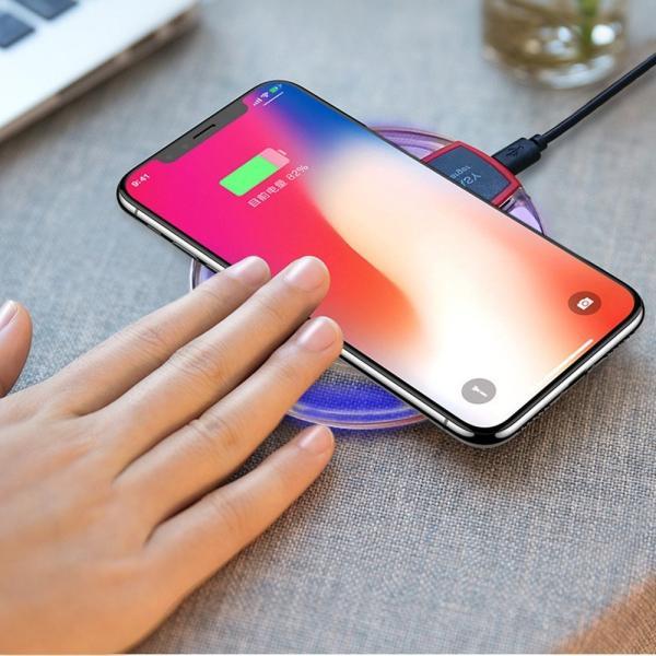 ワイヤレス充電器 iphone8 iphoneX アンドロイド 充電器 iPhone ワイヤレス android Qi 充電器 Qi ワイヤレス充電器 スマホ スマートフォン sky-sky 16