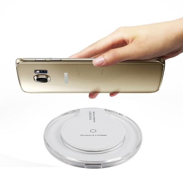 ワイヤレス充電器 iphone8 iphoneX アンドロイド 充電器 iPhone ワイヤレス android Qi 充電器 Qi ワイヤレス充電器 スマホ スマートフォン sky-sky 09