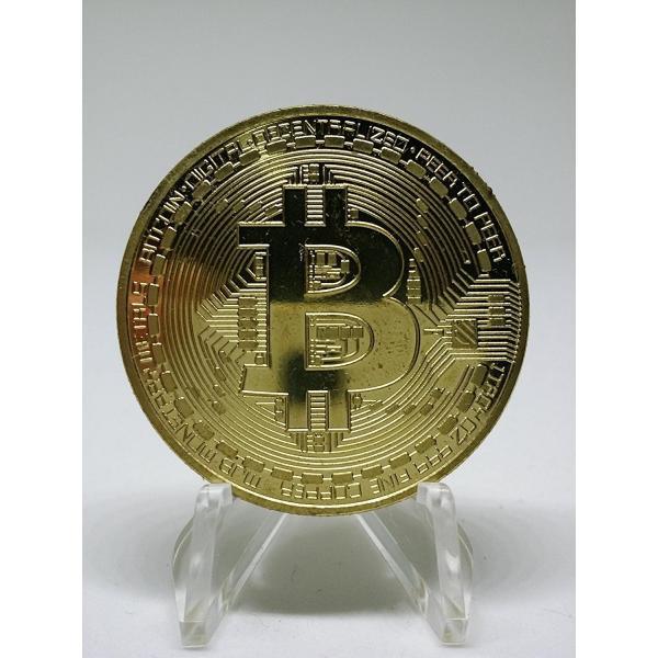 【メール便 送料無料】ビットコイン BitCoin 仮想通貨 コイングッズギフトコインアートコレクションフィジカル sky-sky