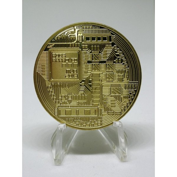 【メール便 送料無料】ビットコイン BitCoin 仮想通貨 コイングッズギフトコインアートコレクションフィジカル sky-sky 02