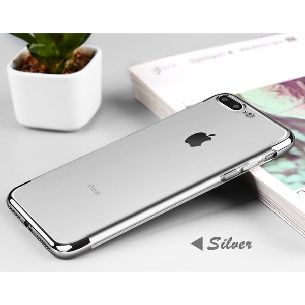 【メール便 送料無料】iphone7・iphone8/iphone7 plus・iphone8 plus保護カバー TPUケース カバー メッキ塗装 透明カバー アイフォーン ソフトカバー 超軽量|sky-sky|13