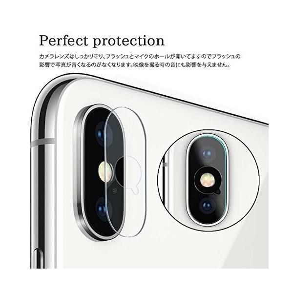 【3pack】iPhoneXR カメラ保護フィルム iPhone X フィルム ガラスフィルム 全面保護 自動吸着 9H硬度の液晶保護 耐指紋 日本旭硝子素材採用|sky-sky|02