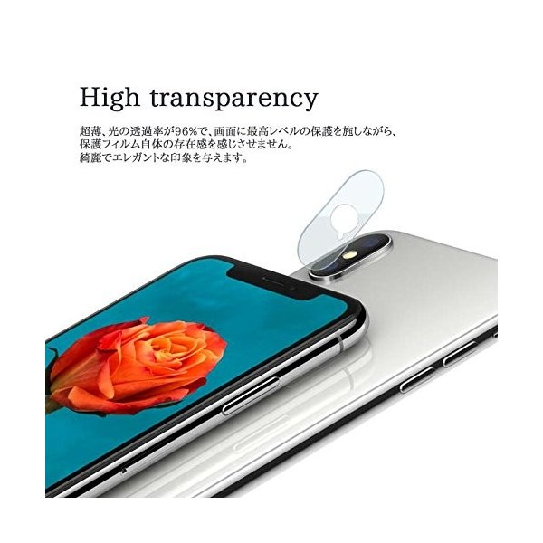 【3pack】iPhoneXR カメラ保護フィルム iPhone X フィルム ガラスフィルム 全面保護 自動吸着 9H硬度の液晶保護 耐指紋 日本旭硝子素材採用|sky-sky|04