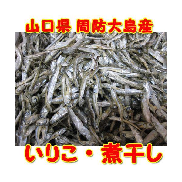 業務用 山口県 周防大島産 お徳用 いりこ 1kg 煮干し
