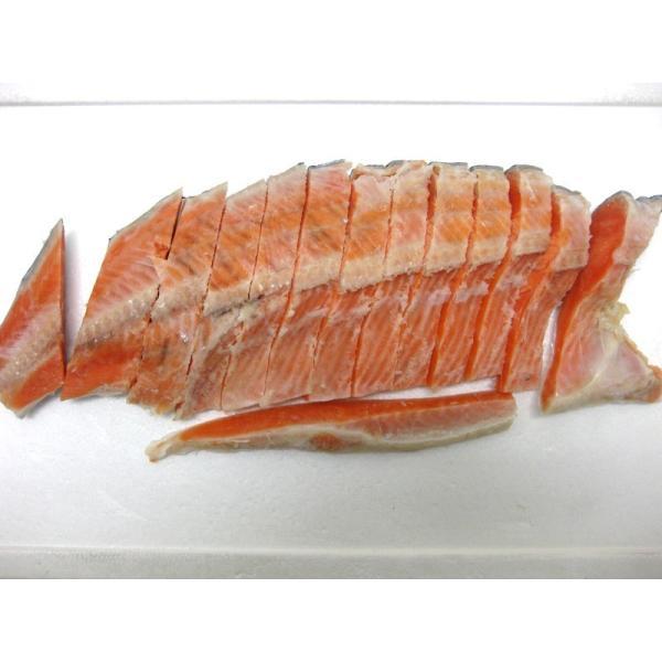 甘塩銀鮭 切り身1Kg袋入り!!無添加の鮭! 送料無料 ギフト 父の日 母の日|skyandblue|04