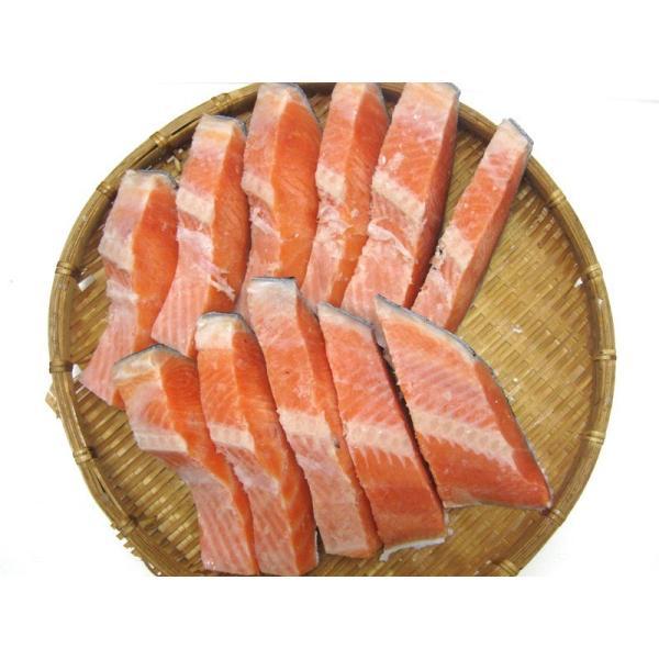 甘塩銀鮭 切り身1Kg袋入り!!無添加の鮭! 送料無料 ギフト 父の日 母の日|skyandblue|05
