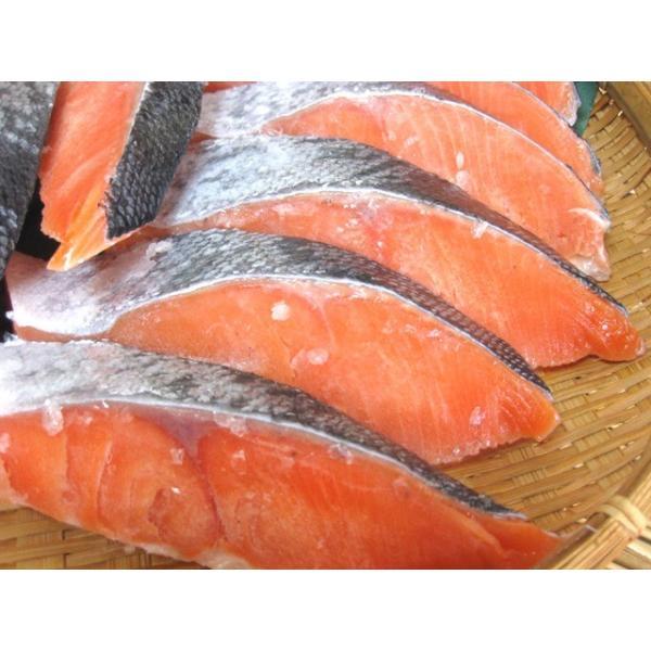 甘塩銀鮭 切り身1Kg袋入り!!無添加の鮭! 送料無料 ギフト 父の日 母の日|skyandblue|06