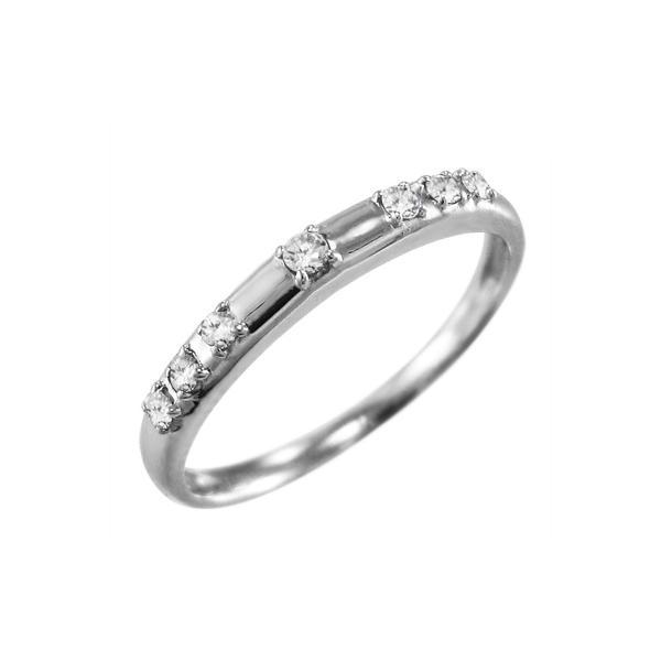 指輪 オーダーメイドブライダルにも 天然ダイヤモンド Pt900 4月誕生石