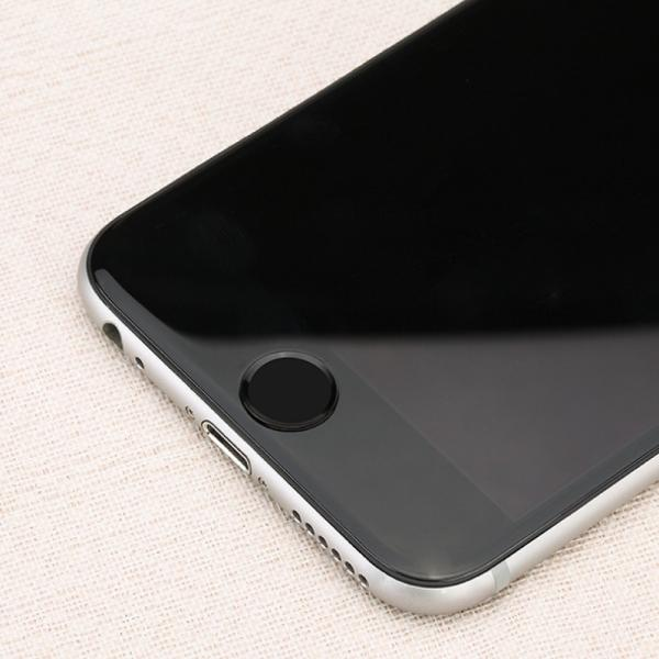 3枚セット iPhoneホームボタンシール TouchID 指紋認証可能 アイフォンボタン レッド 保護シール 取付簡単|skybird|05
